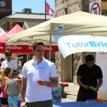 TutorBright Enjoying the Milton Street Festival!