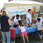 The TutorBright Booth is Packed with Kids Learning in Milton!