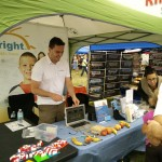 Giant Smiles with TutorBright St. Catherines & Niagara at the Winona Peach Festival