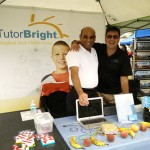TutorBright Directors of Education Sharing a Laugh at the Winona Peach Festival