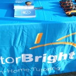 TutorBright North York set up at the Kingsway!
